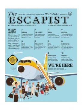 The Escapist: a journal of places less explored. Special Edition Issue 4 2016