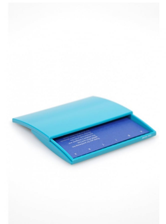Abitax French Blue Business Card Case