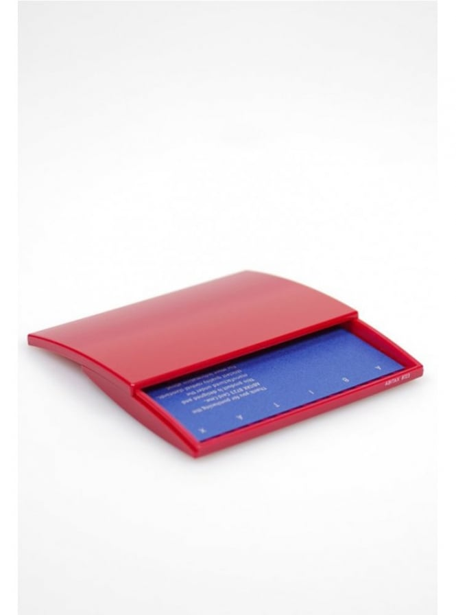 Abitax Red Business Card Case