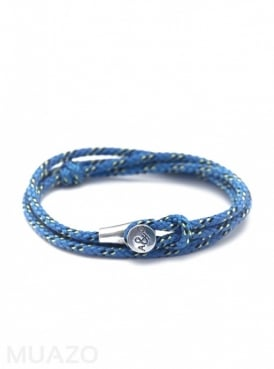 All Blue Dundee Rope Bracelet