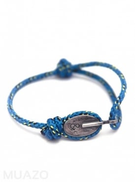 All Blue London Rope Bracelet