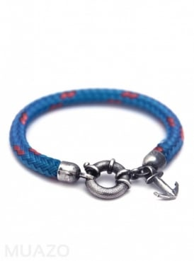 All Blue Salcombe Rope Bracelet