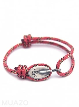 All Red London Rope Bracelet