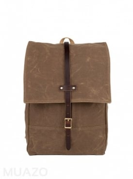 Ranger Tan 22 Ounce Waxed Cotton Twill Rucksack