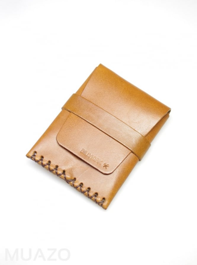 BillyKirk Tan Leather Card Case