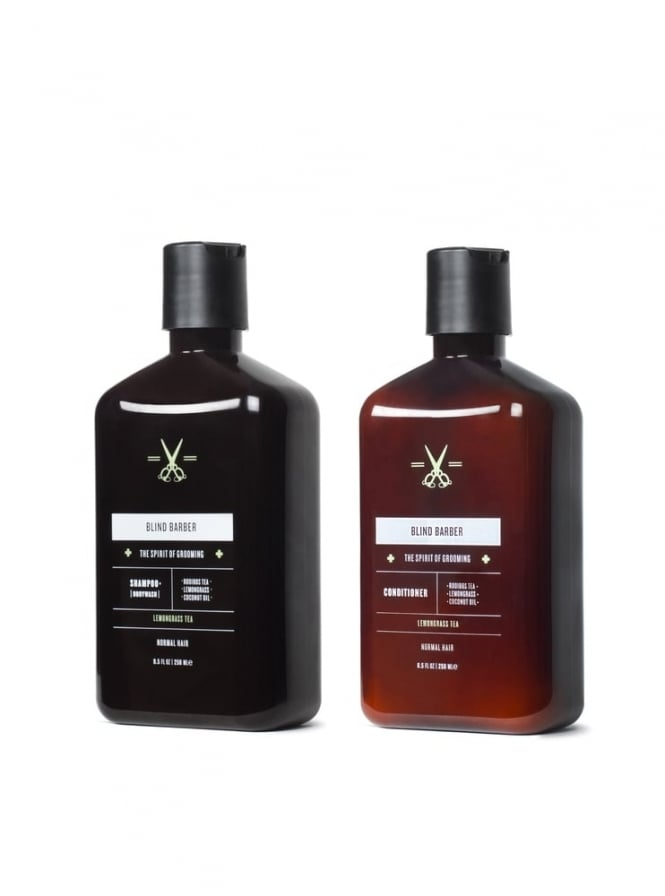 Blind Barber Shampoo and Conditioner Kit
