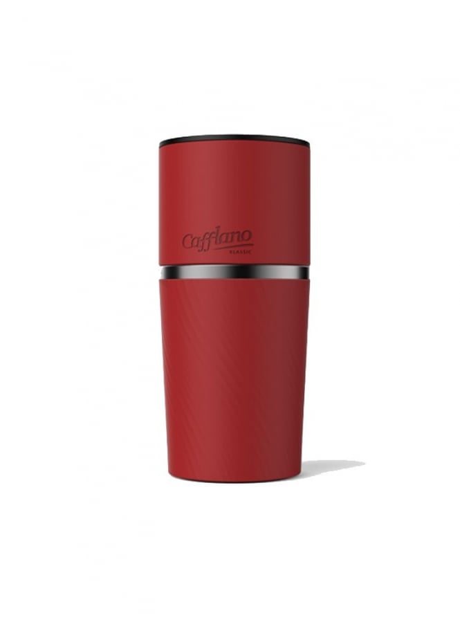 Cafflano Klassic All in One Coffee Maker Red