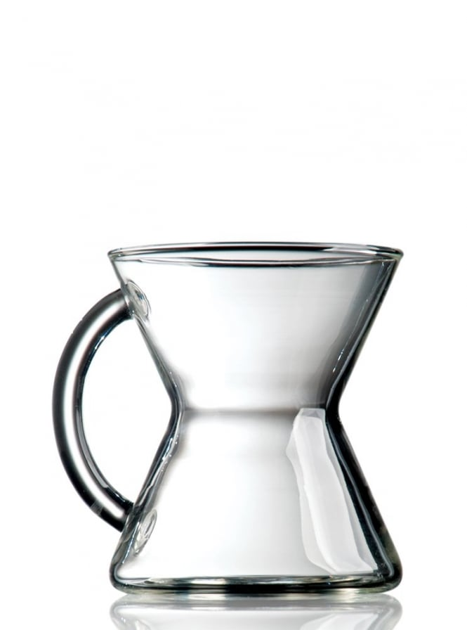 Chemex 2 Handmade Glass Coffee Mug 10oz