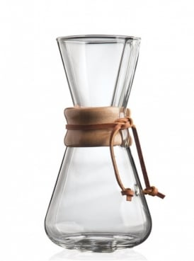Chemex Coffee Maker 3 cup Wood Collar