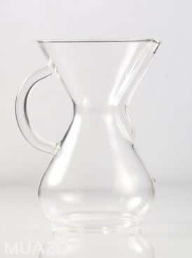 Chemex Coffee Maker 6 cup Glass Handle