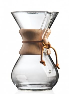 Chemex Coffee Maker 6 cup Wood Collar