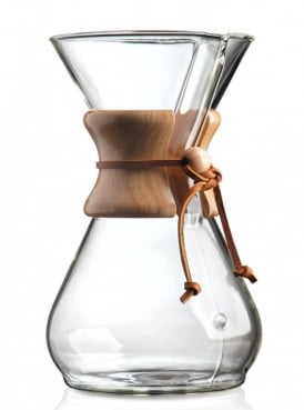 Chemex Coffee Maker 8 cup Wood Collar