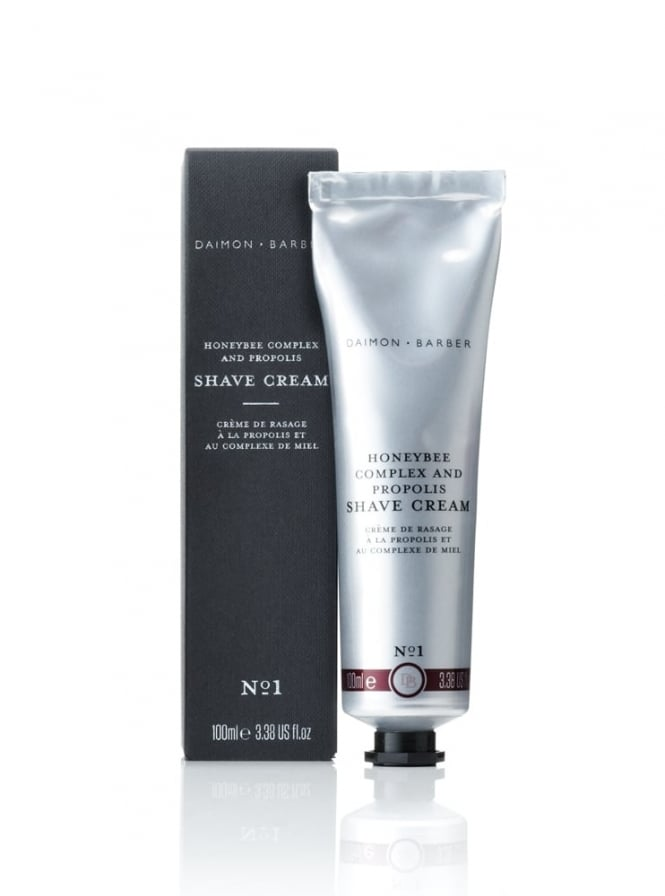 Daimon Barber Honeybee Complex & Propolis Shave Cream 100ml