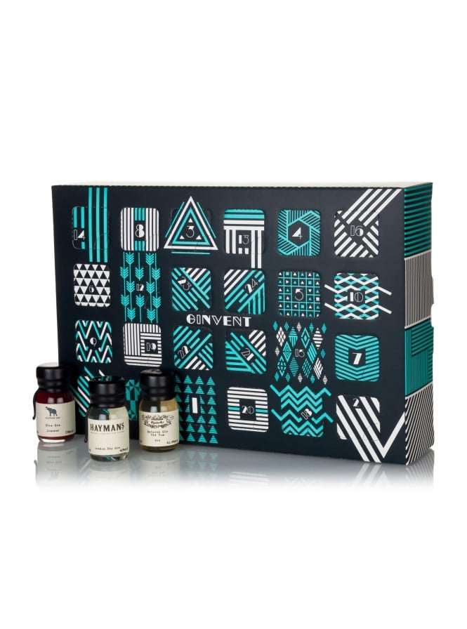 Drinks By The Dram The Ginvent Advent Calendar 2017 24 30ml Drams