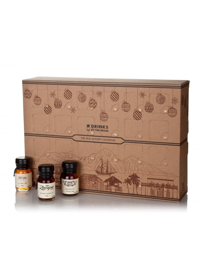 Drinks By The Dram The Rum Advent Calendar 2017 24 30ml Drams