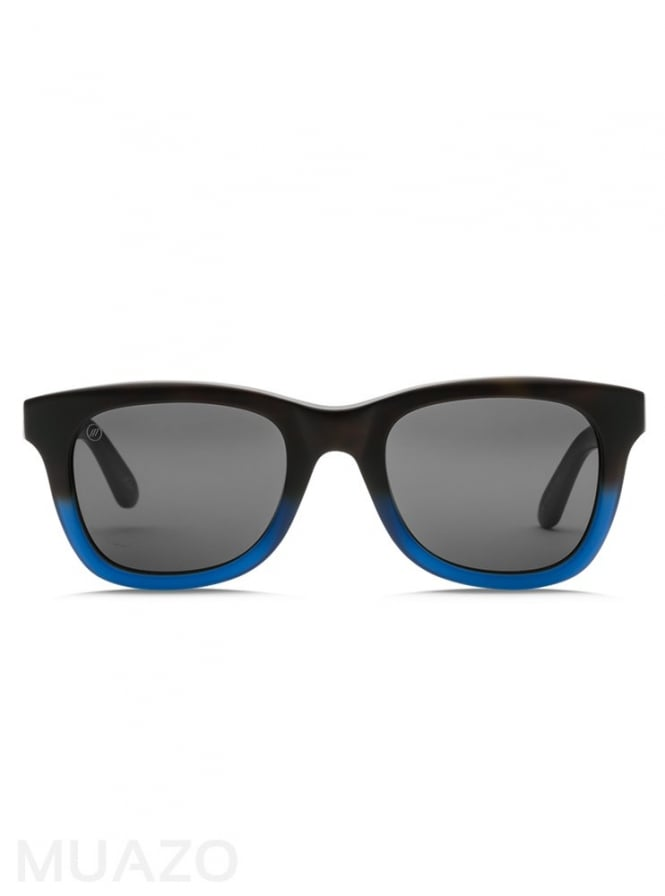 Electric California Detroit XL Matte Blue Sunglasses