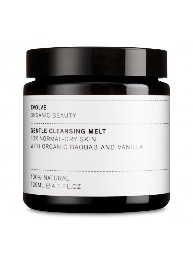 Evolve Organic Beauty Gentle Face Cleansing Melt with Organic Baobab & Vanilla 120ml