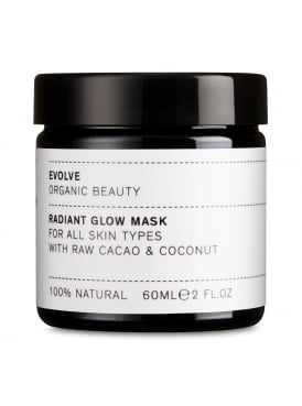 Radiant Glow Face Mask With Raw Cacao and Coconut 60ml