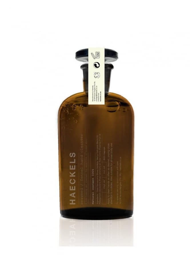 Haeckels of Margate Seaweed Fennel Hand Cleanser 250ml