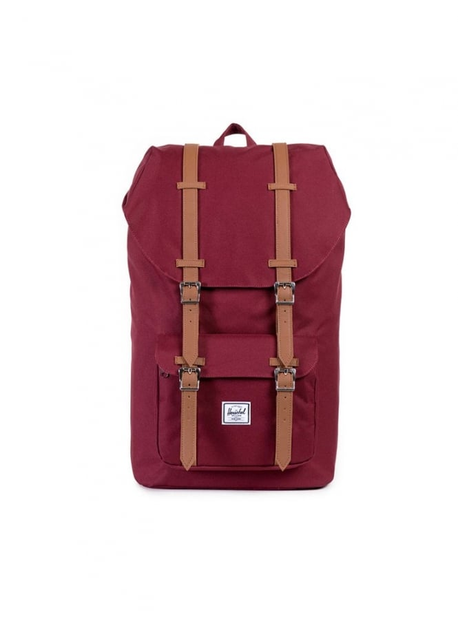 Herschel Supply Co Little America Backpack Windsor Wine/Tan