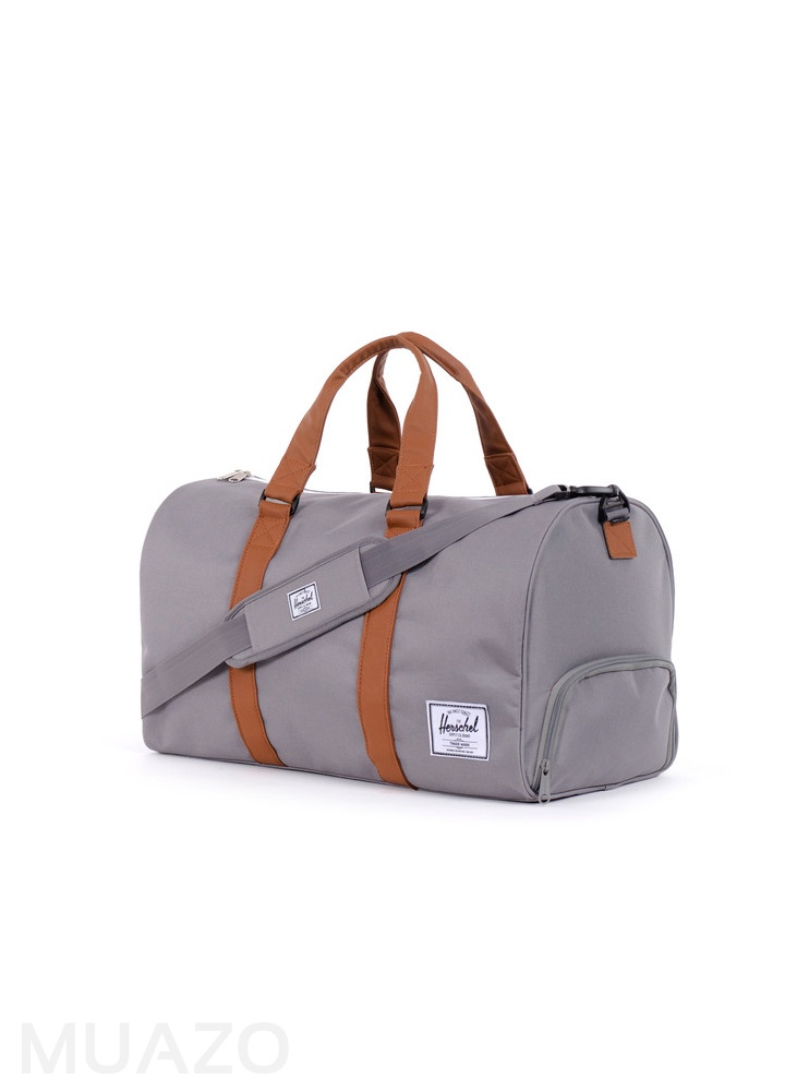 Buy Herschel Supply Co Novel Grey Duffel Bag