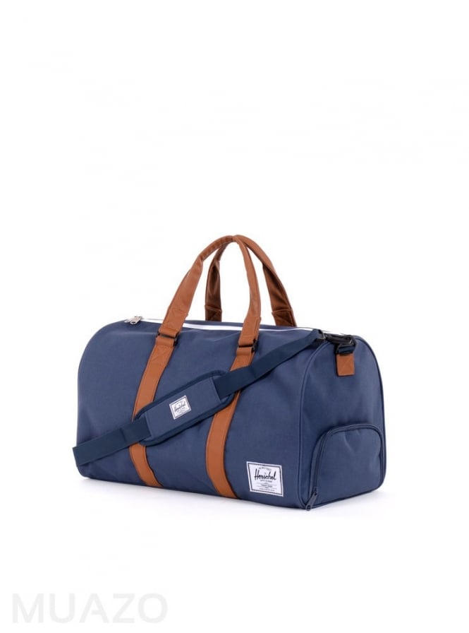Herschel Supply Co Novel Navy Tan Duffel Bag