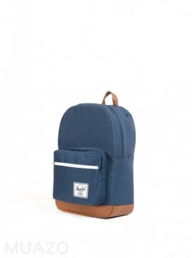 Herschel Supply Co Pop Quiz Navy Tan Backpack