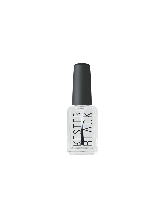 Kester Black Two in One Top and Base Coat 15ml