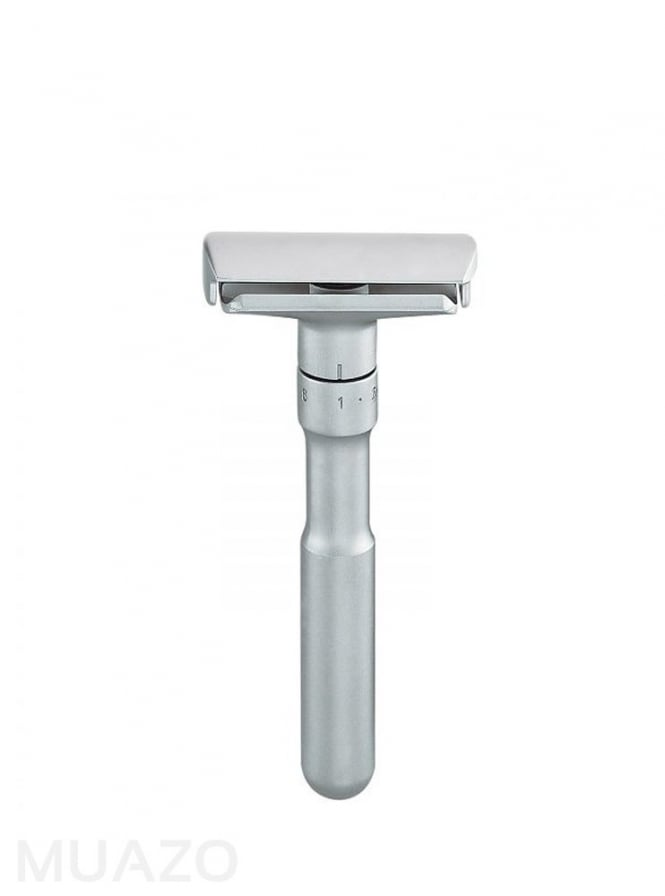 Merkur Solingen Futur Adjustable Double Edge Safety Razor Satin Finish