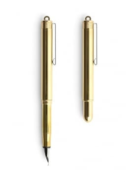 Travellers Brass Fountain Pen