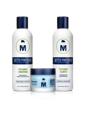Mister Pompadour Moroccan Texture Paste and Shampoo and conditioner Kit