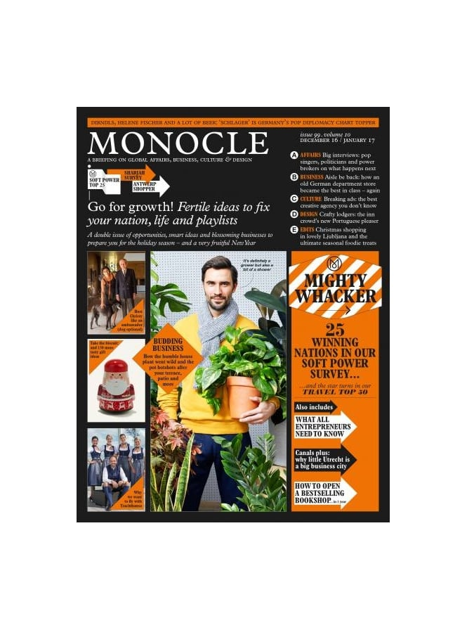 Monocle Magazine December 2016 issue 99 Vol.10