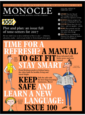 Monocle Magazine February 2017 issue 100 Vol.10