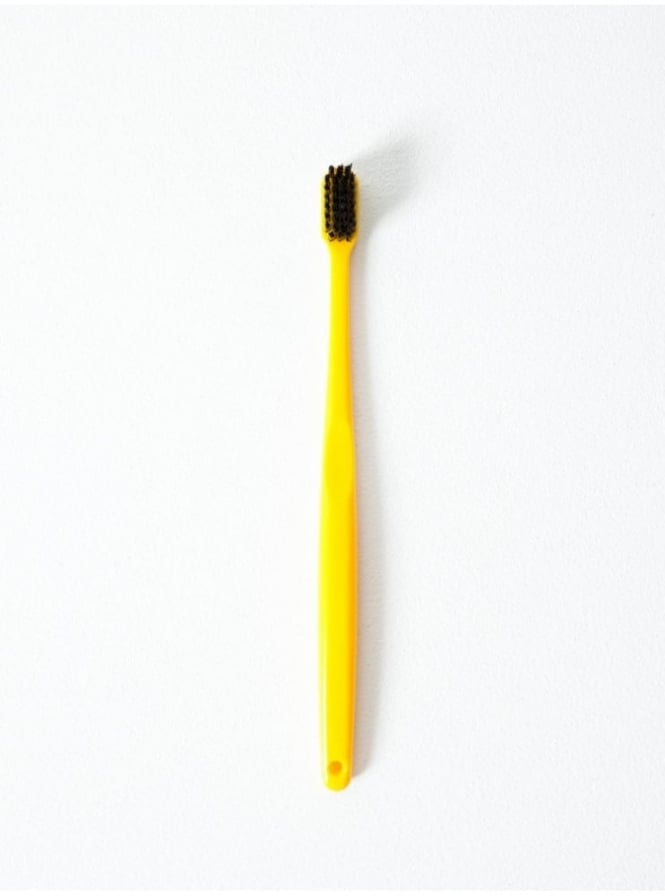 Morihata Binchotan Charcoal Toothbrush Yellow