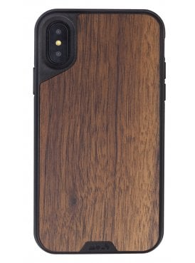 Mous iPhone X Walnut Protective Case