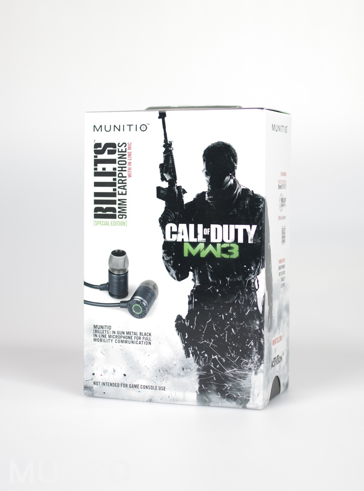 Limited Edition Call of Duty Modern Warfare 3 MW3 Billet Earphones