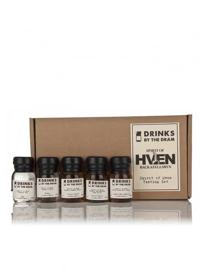 Drinks By The Dram Spirit of Hven Tasting Set