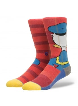 Disney Donald Duck Socks Red
