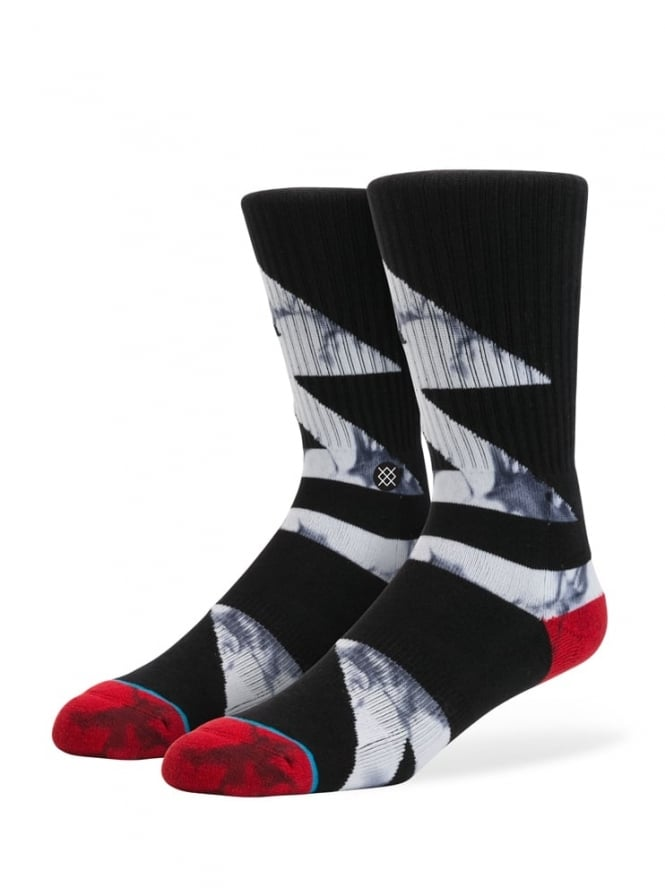 Stance Electron Socks Black