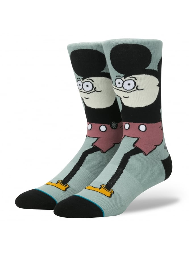 Stance Howell Disney Micky Mouse Socks Blue