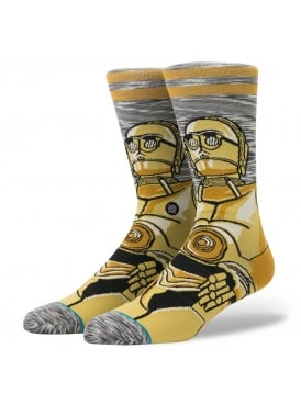 Stance Socks Android C-3PO Star Wars The Last Jedi