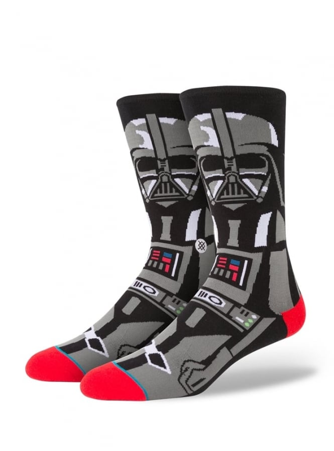 Stance Star Wars Darth Vader Socks Black.