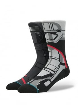 Star Wars First Order Socks Dark Grey.