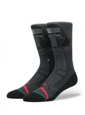 Star Wars Kylo Ren Socks Dark Grey.