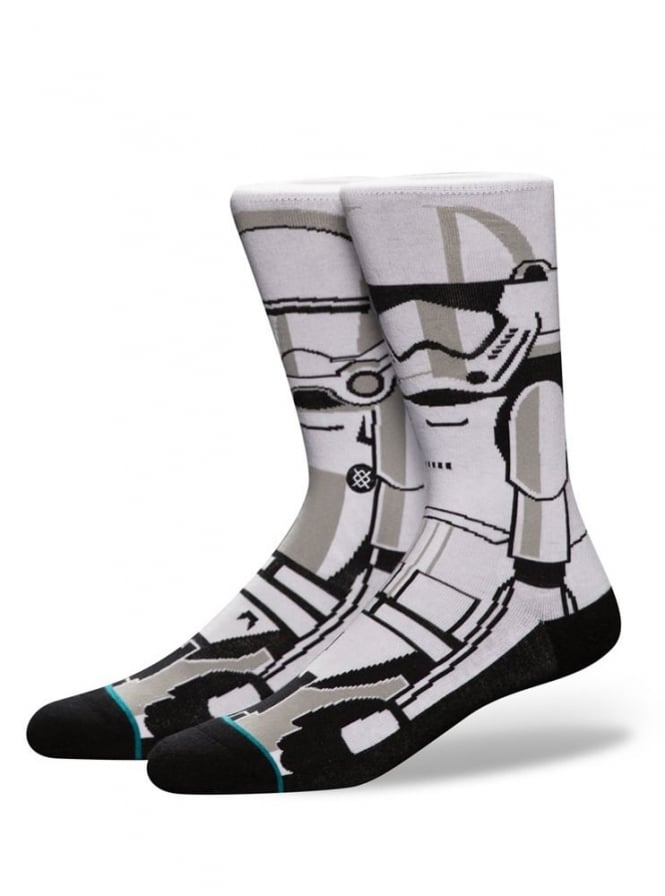 Stance Star Wars Trooper 2 Socks White.