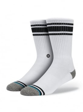White Out Black Socks