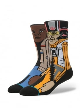 Star Wars The Resistance 2 Socks Orange.