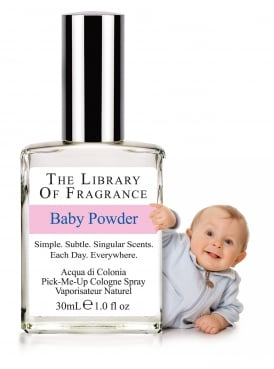 The Library of Fragrance Baby Powder 30ml Cologne