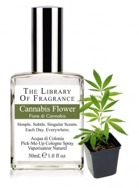 The Library of Fragrance Cannabis Flower 30ml Cologne