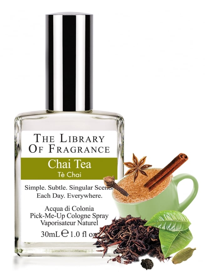 The Library Of Fragrance Chai Tea 30ml Cologne